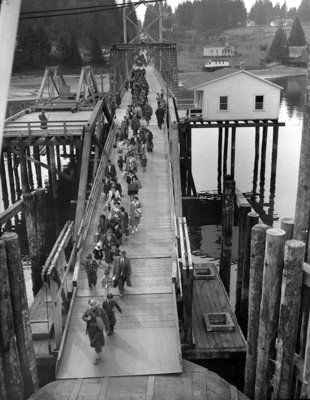 Eagledale ferry dock