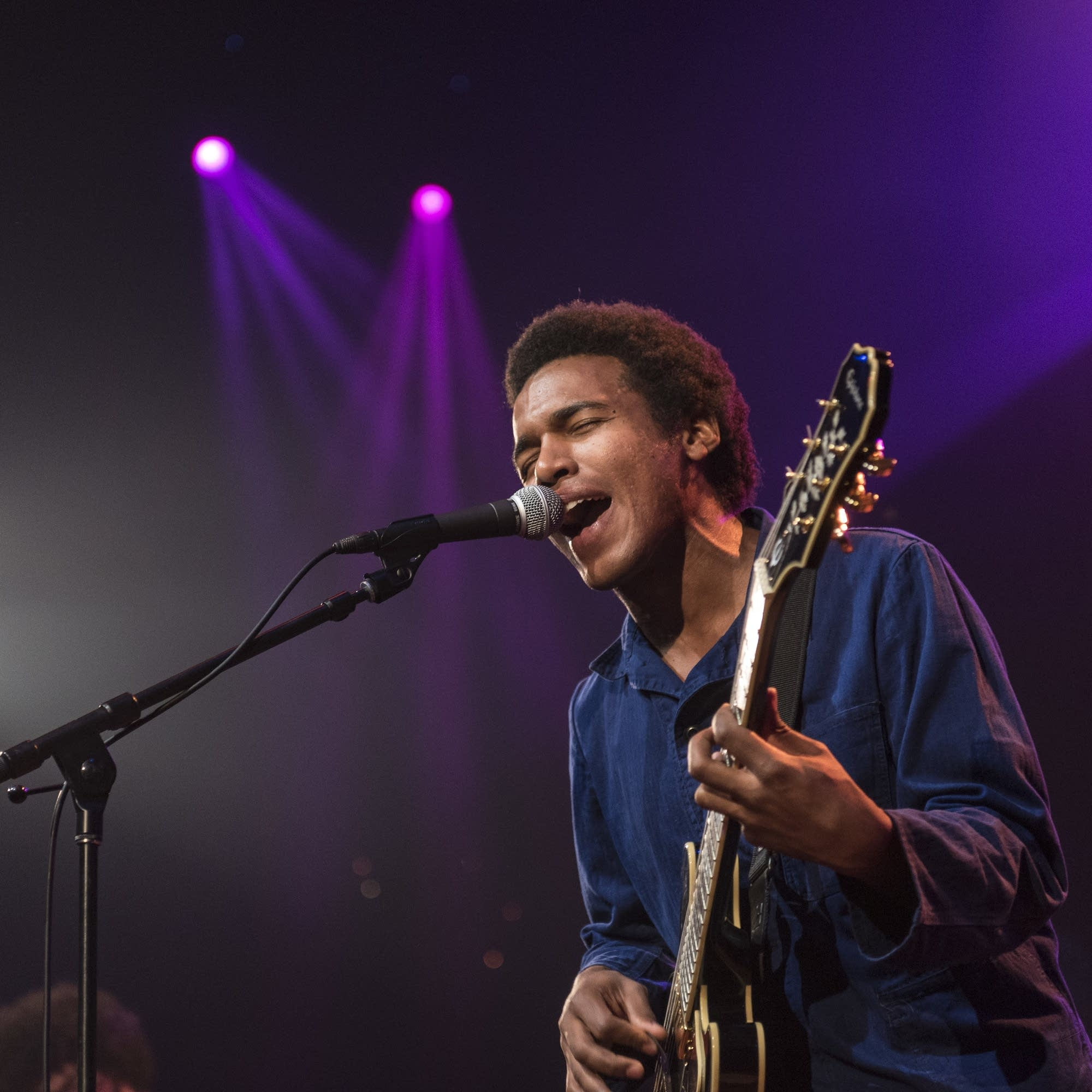 Benjamin Booker performs on 'Austin City Limits'