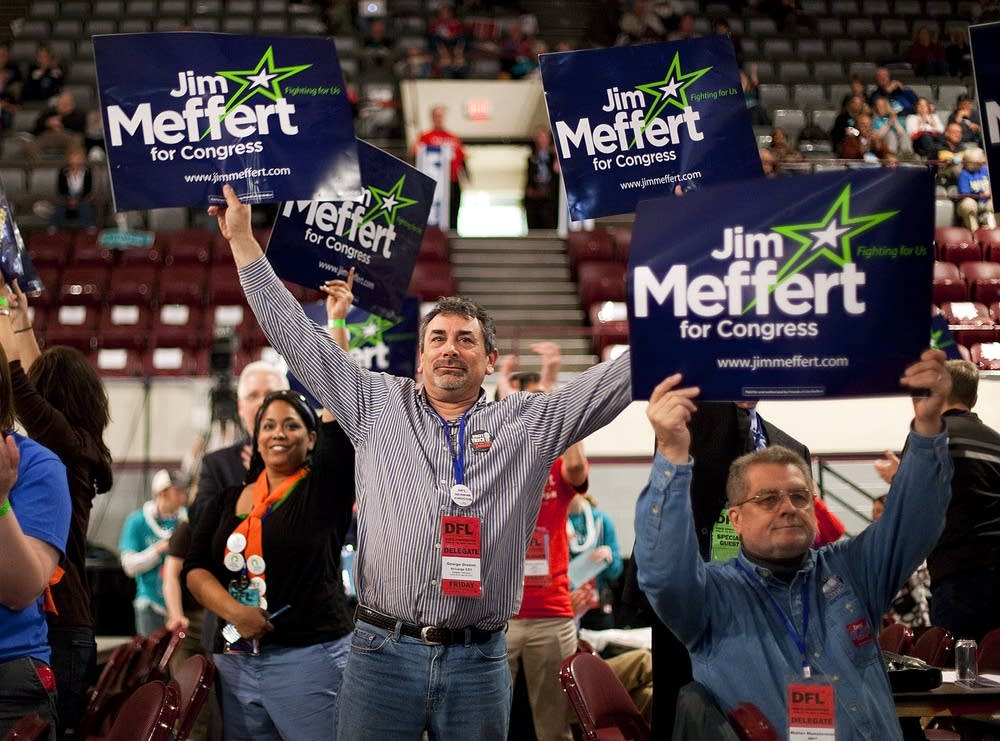 Jim Meffert supporters