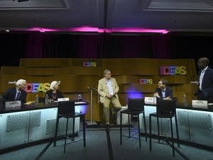 Intelligence Squared debate at the Aspen Ideas Festival.