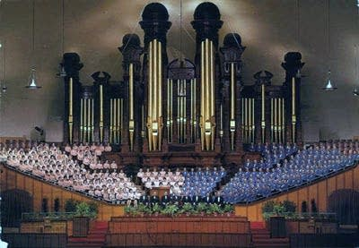 Mormon Tabernacle Choir & Organ in Salt Lake City, Utah