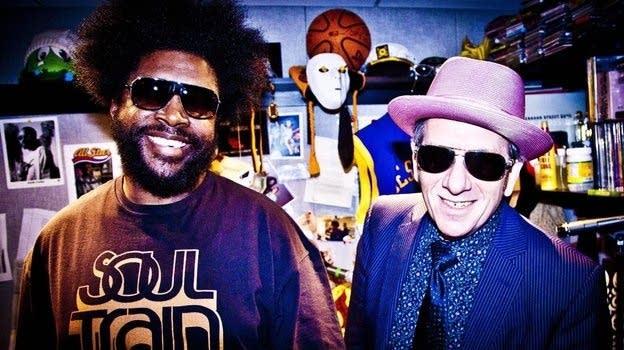?uestlove and Elvis Costello
