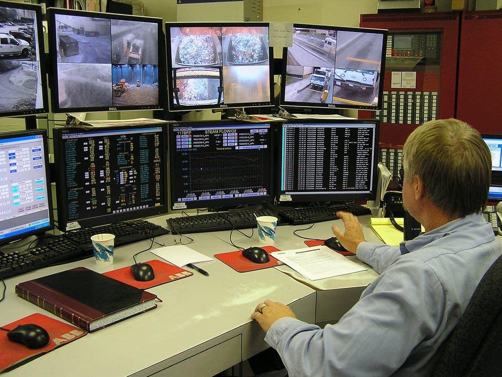 HERC control room