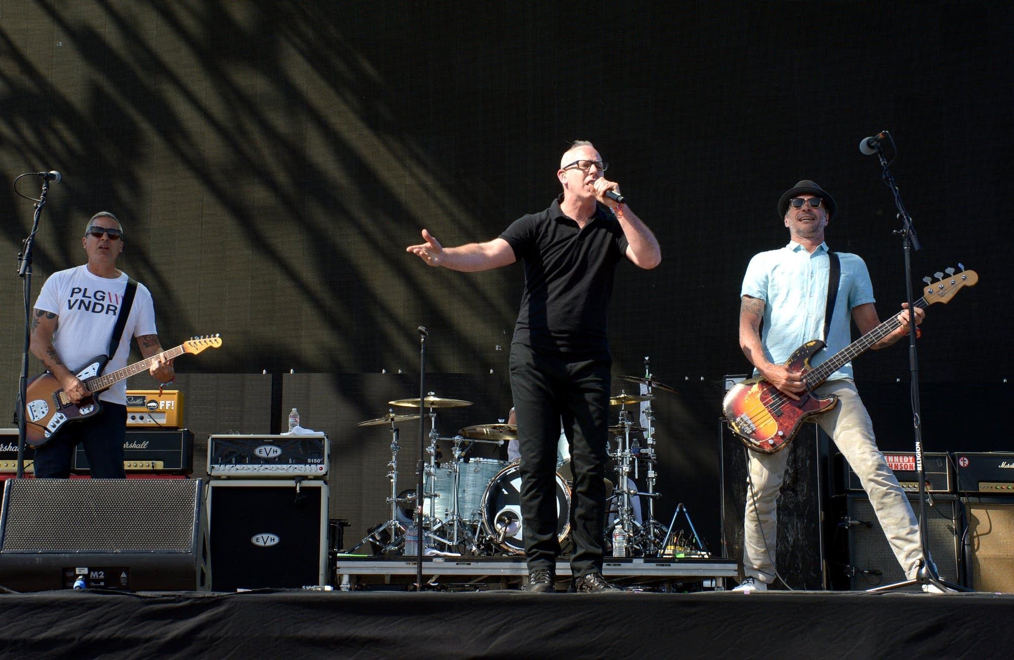 Bad Religion and singer Greg Gaffin