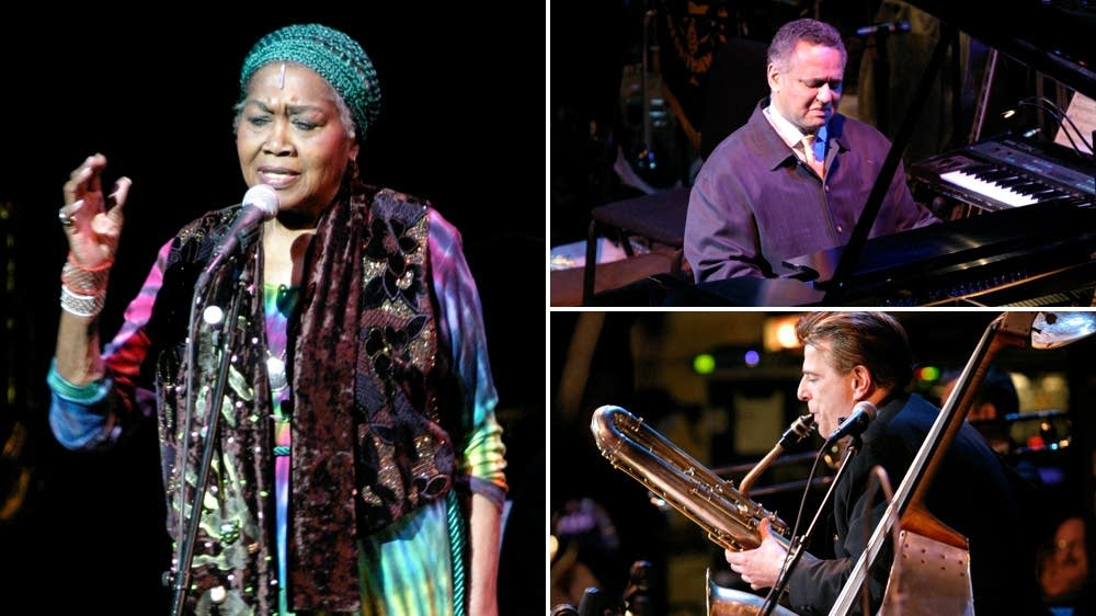 Odetta, André Watts, Vince Giordano