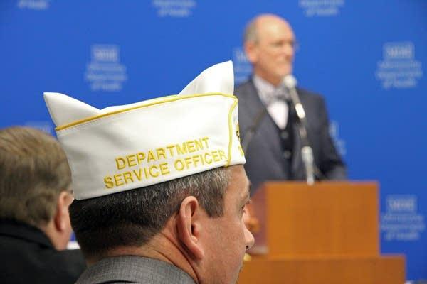 Jeremy Wolfsteller of the American Legion