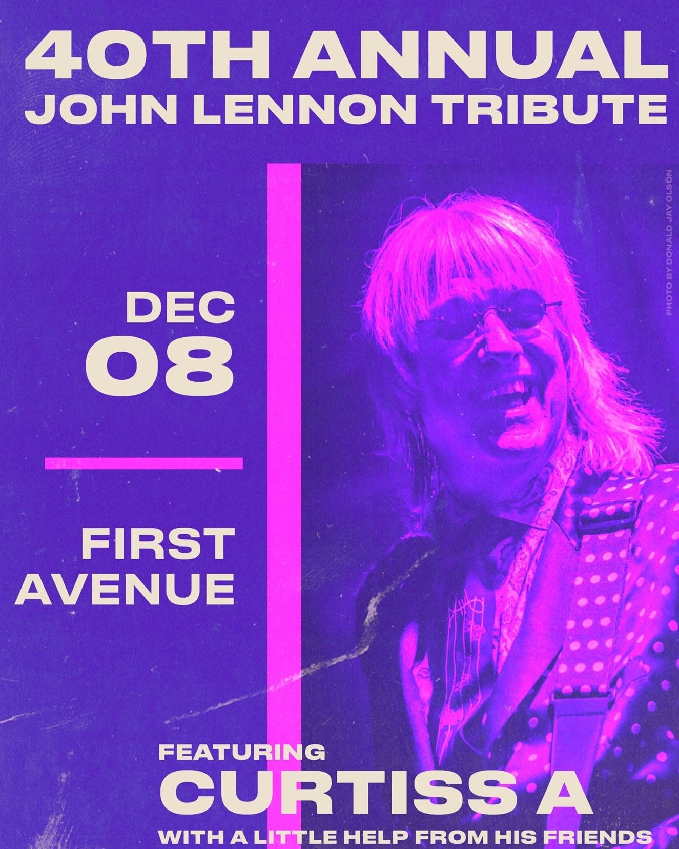 40th Annual Lennon Tribute