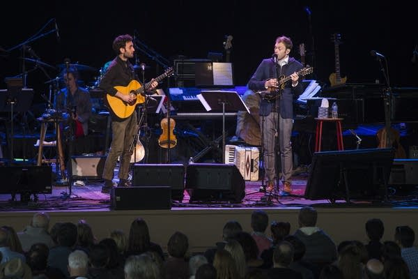 Julian Lage and Chris Thile perform Lage's