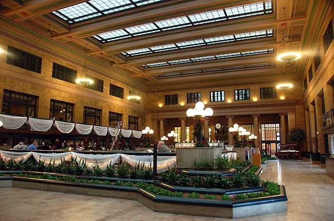 Main lobby view