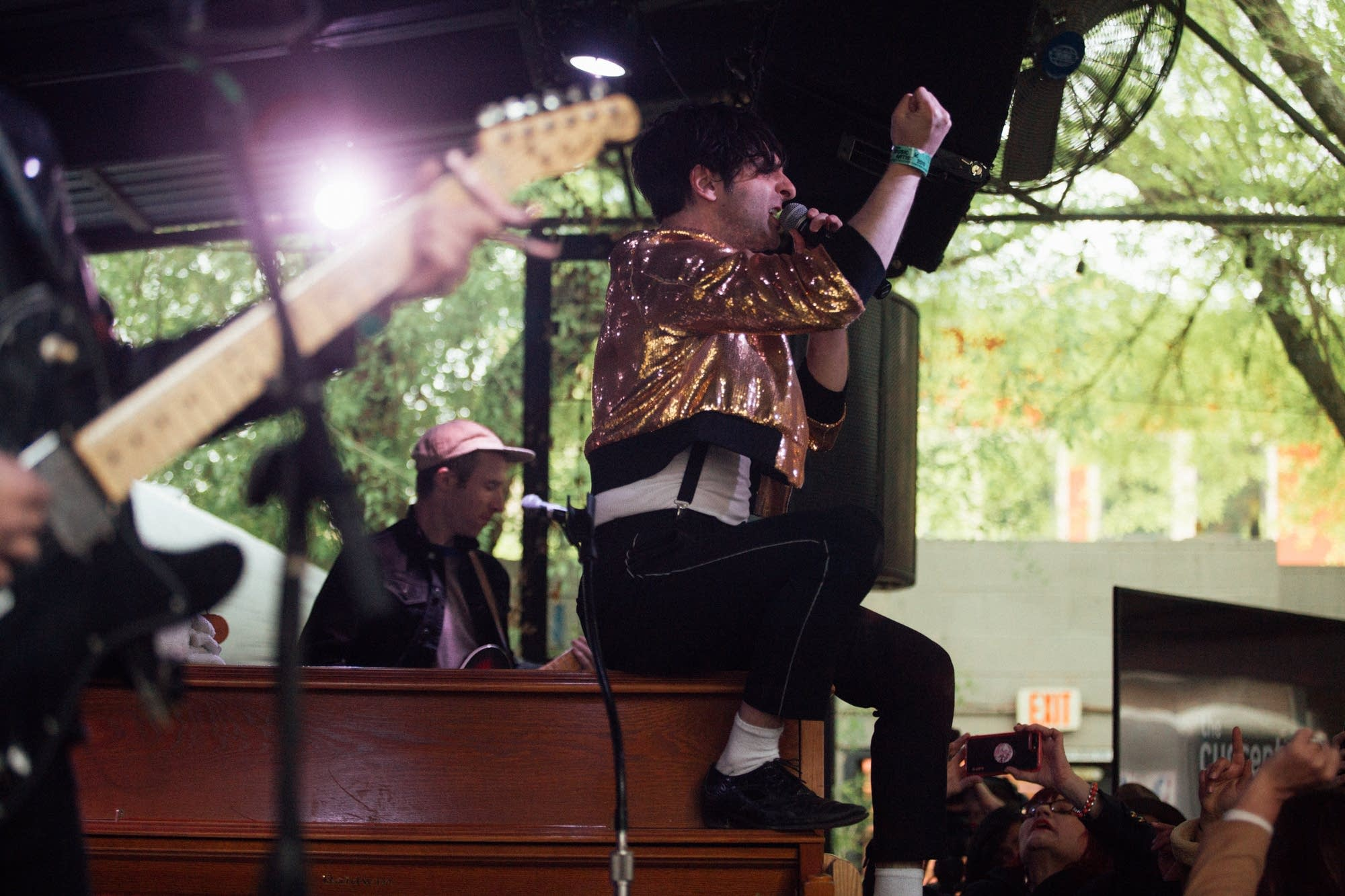 Low Cut Connie perform at The Current Day Party during SXSW 2019