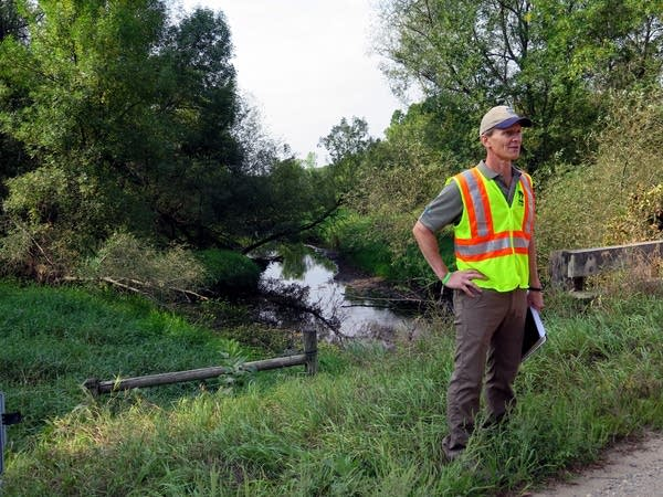 Mark Hauck, project manager with the Minnesota DNR.