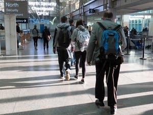 MSP international airport