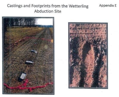2e67be 20160921 shoe prints at wetterling abduction scene