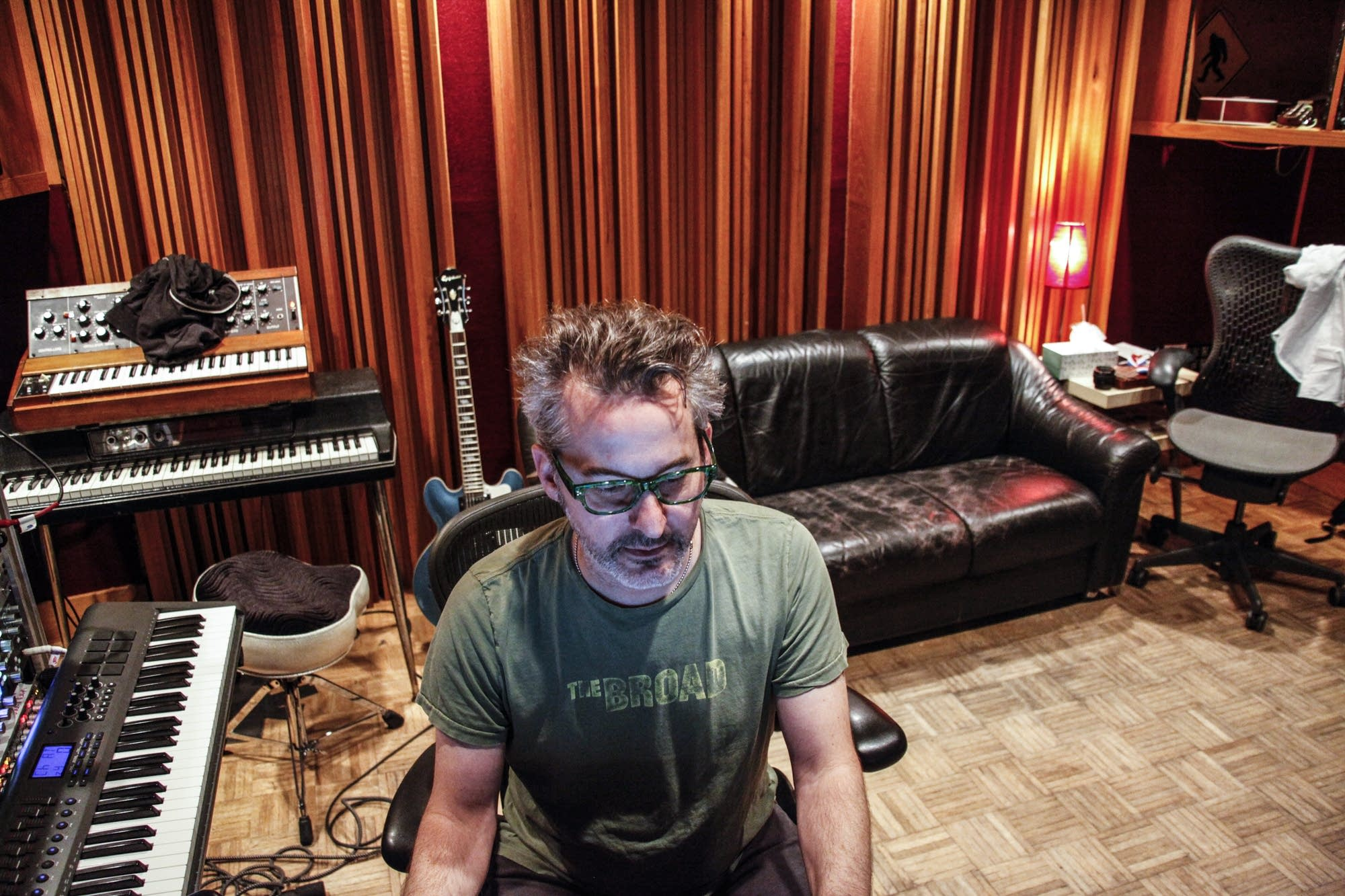 Popular music producer John Fields now works in Minneapolis.