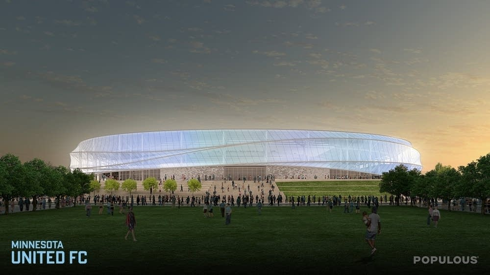 360 degree canopy over stadium & MN United begins Major League Soccer games in March | Minnesota ...