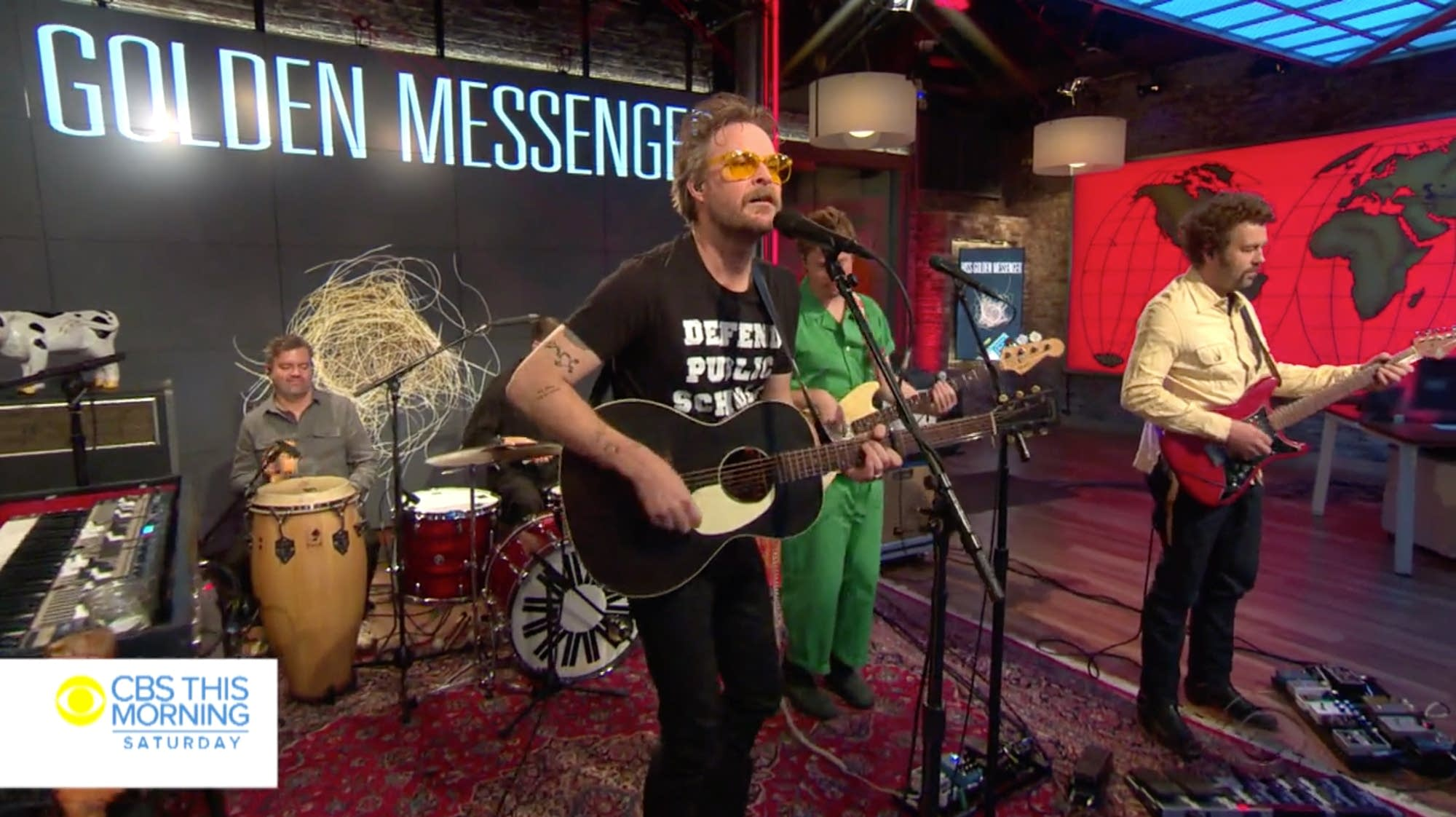 Hiss Golden Messenger performing on 'CBS This Morning' Saturday