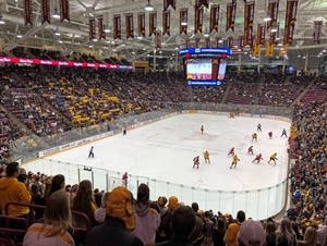 The University of Minnesota Men's Hockey game on Dec. 2, 2017
