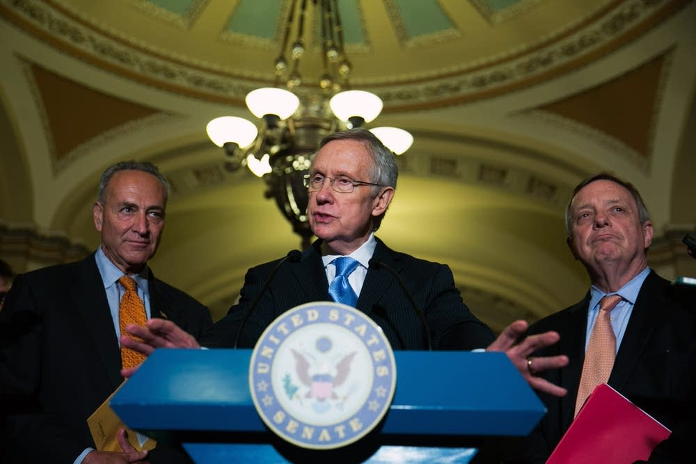 Democratic Sens. Schumer, Reid and Durbin