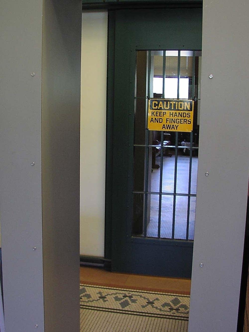 Visitor entrance