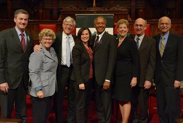 Minneapolis mayoral candidates posed