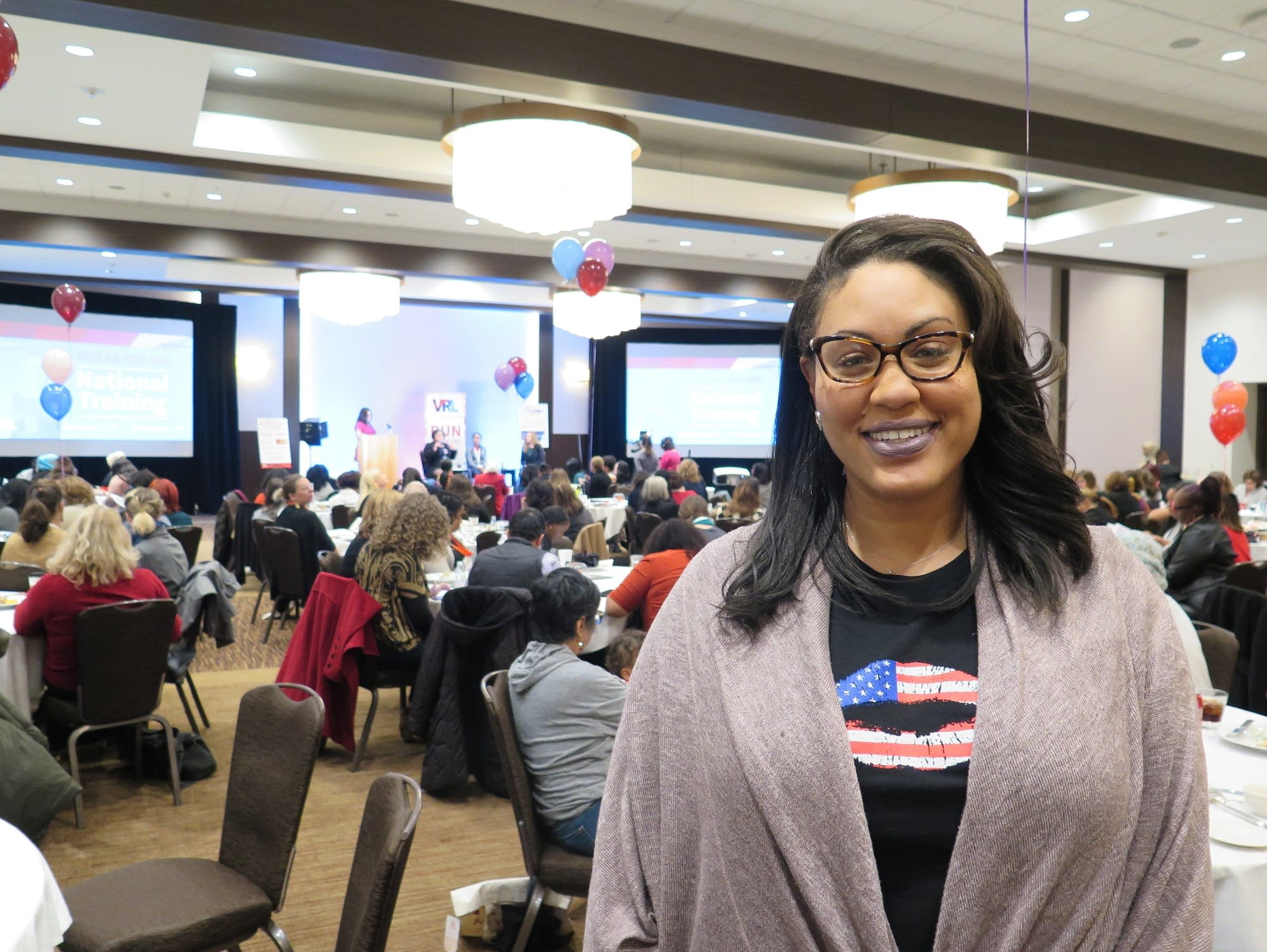 Tamara Flowers is interested in running for office in St. Paul.