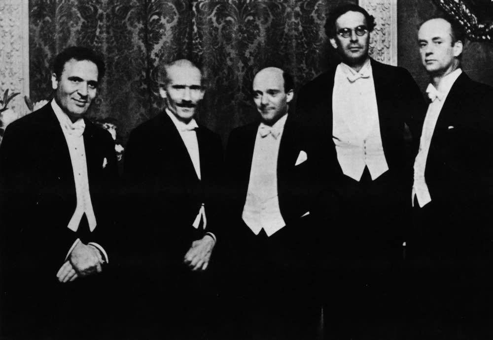 Five conductors in Berlin, 1929