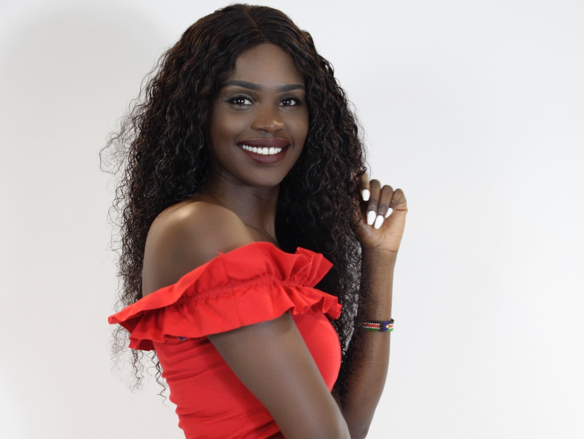 Awel Lam of Duluth is competing in the Miss South Sudan USA