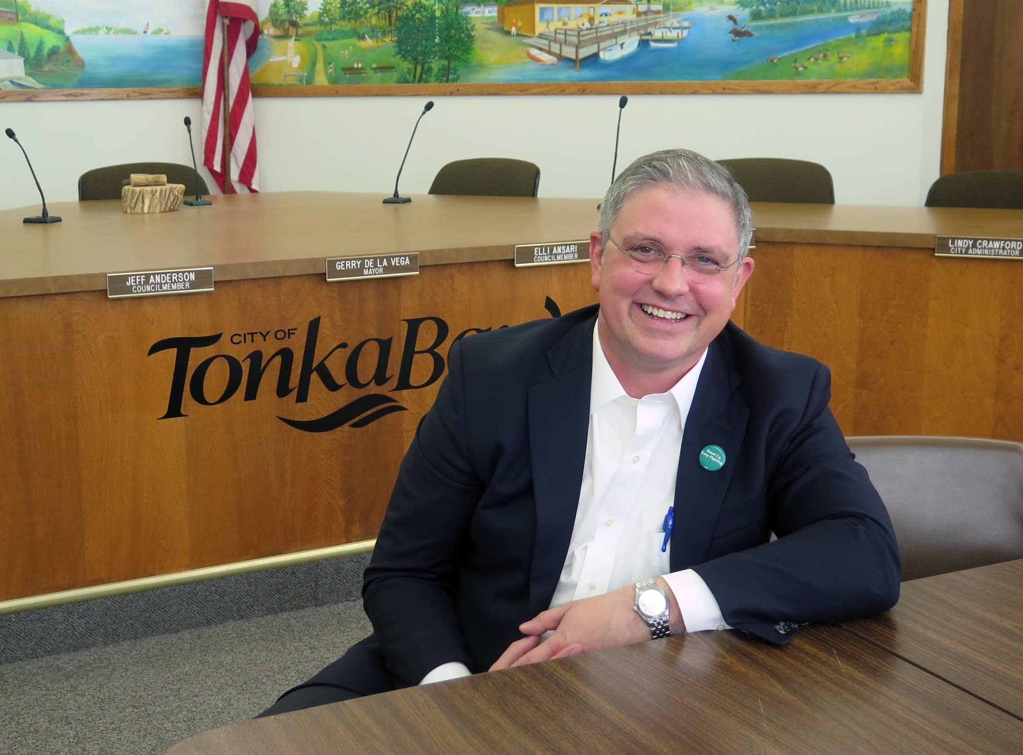 Tonka Bay City Council member Adam Jennings.