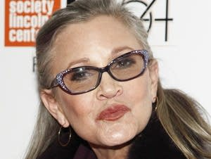 Actress Carrie Fisher attends a special screening