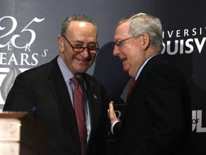 Senate Democratic Leader Chuck Schumer, Republican Leader Mitch McConnell.