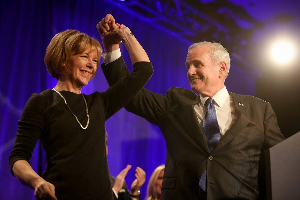 Newly re-elected Gov. Mark Dayton