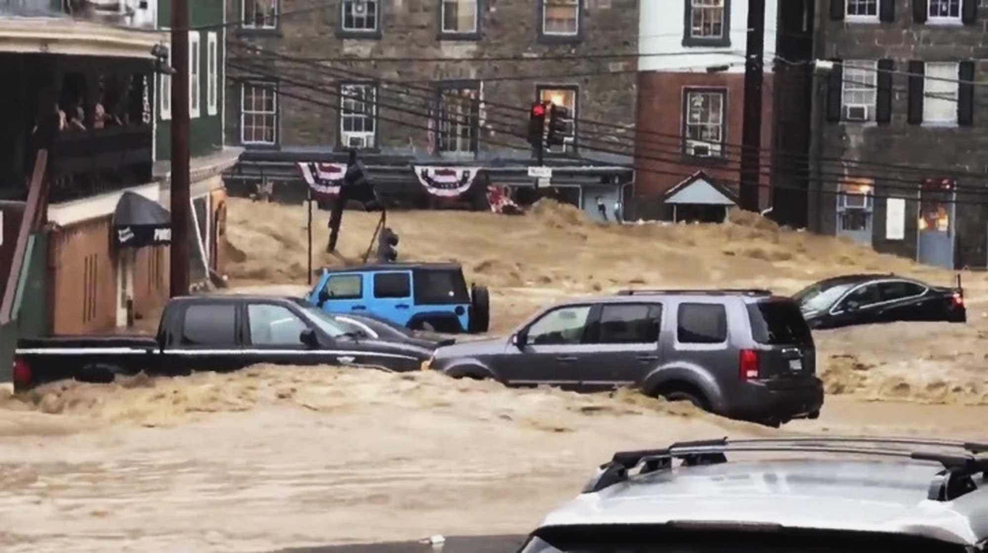 Rescuers seeking 1 man missing in Maryland flooding ...