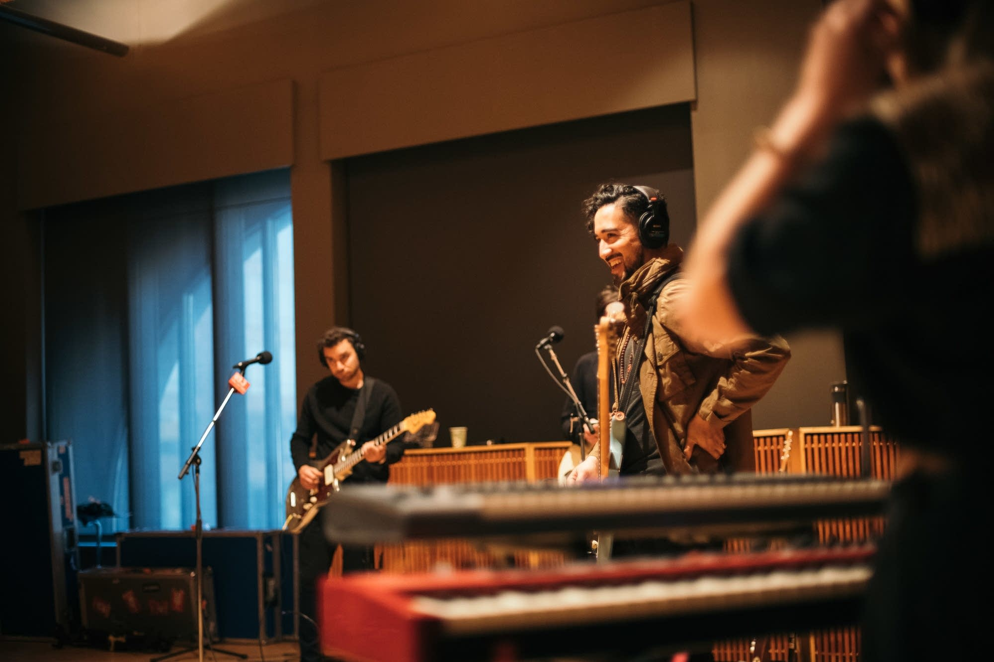 Lord Huron perform in The Current studio