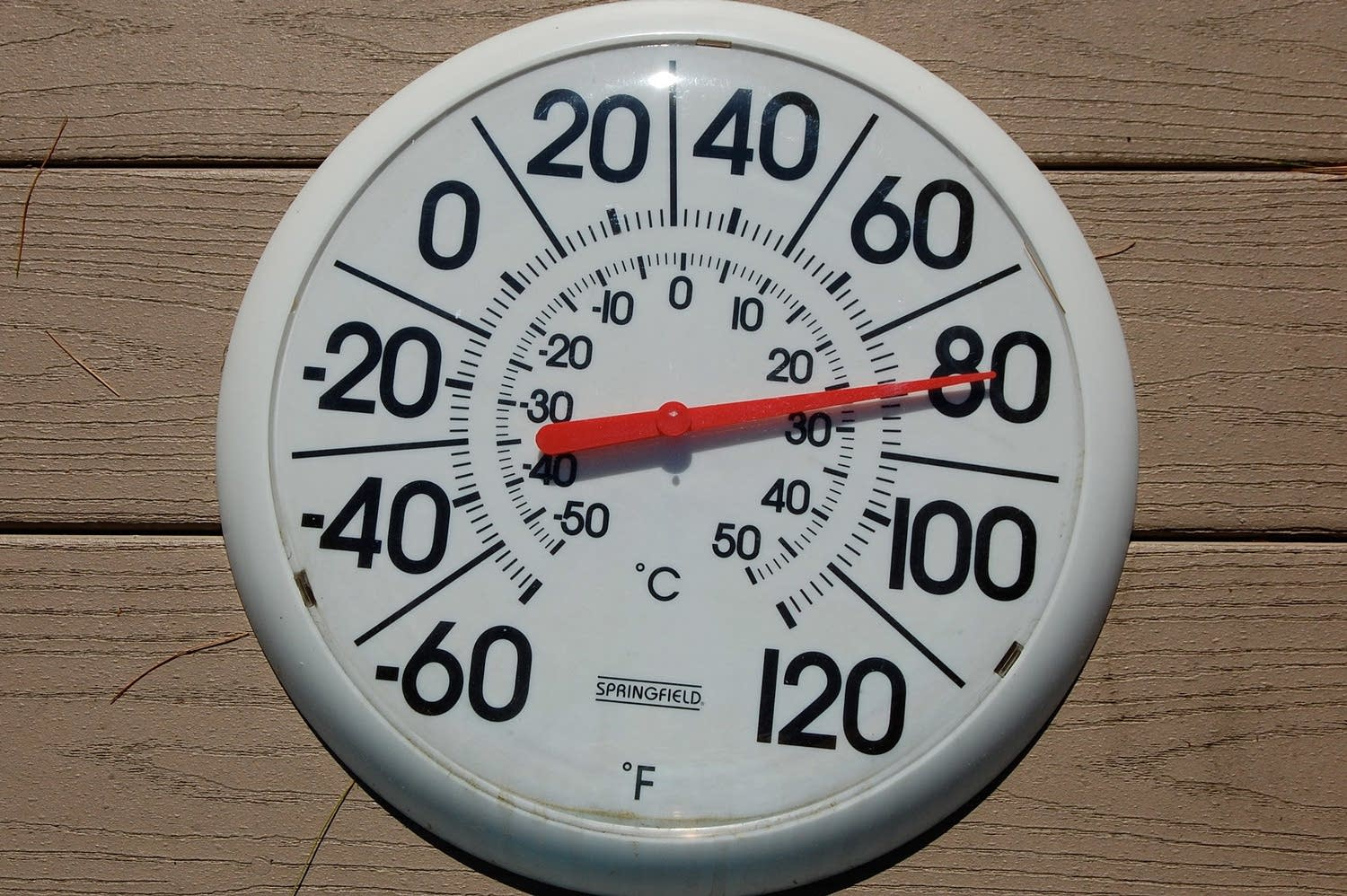 Thermometer - temperature is rising!