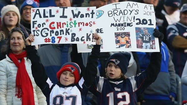 Young Patriots fans