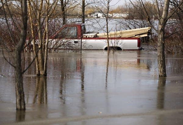Overland flooding