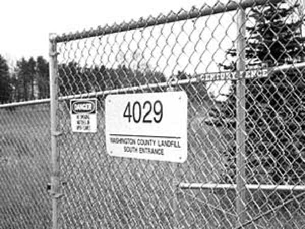 Washington County landfill