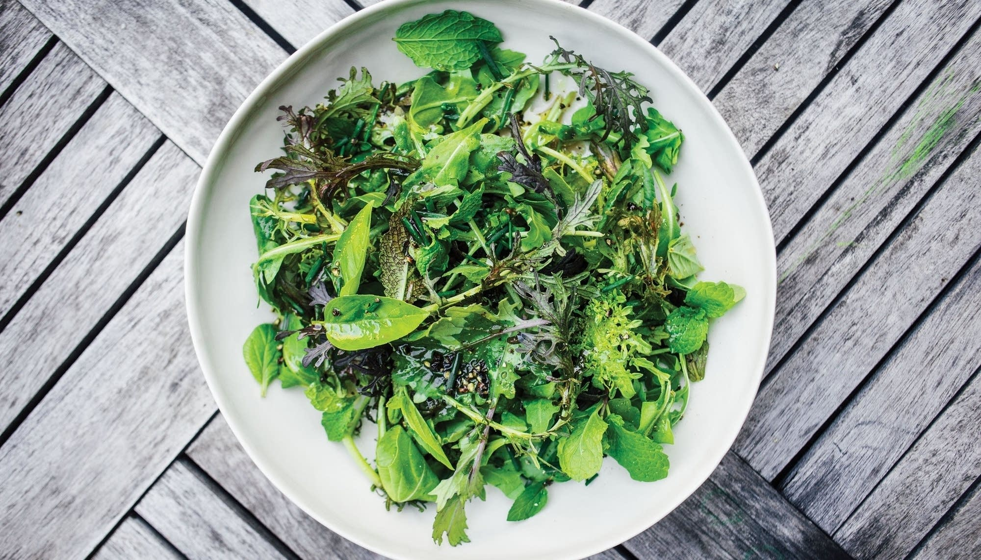 Simplest Green Salad The Splendid Table