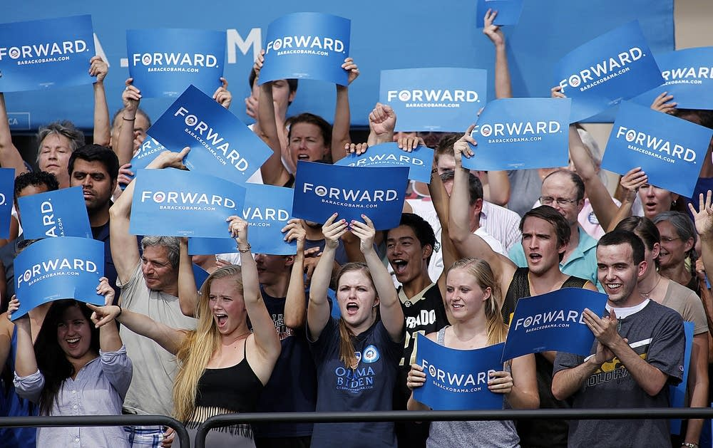 University of Colorado Obama supporters
