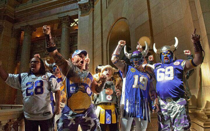 The Viking World Order lobbied at the State Capitol