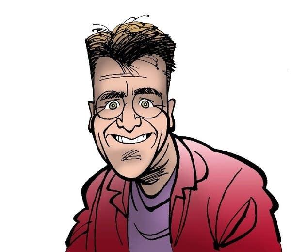 Kirk Anderson self-portrait