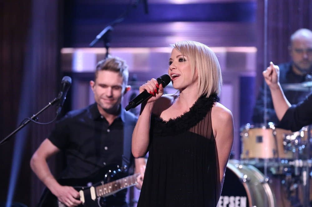 Carly Rae Jepsen performs on 'The Tonight Show Starring Jimmy Fallon'
