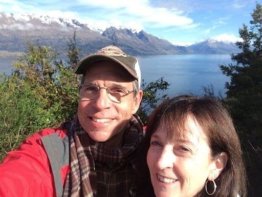 Thomas Stillwell and his wife, Virginia, in Alaska in 2016.