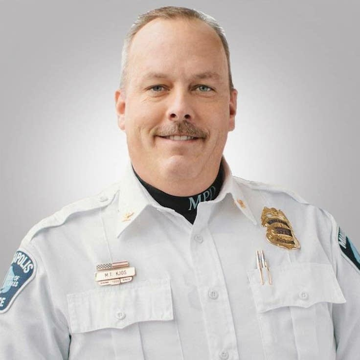 Minneapolis police inspector Michael Kjos