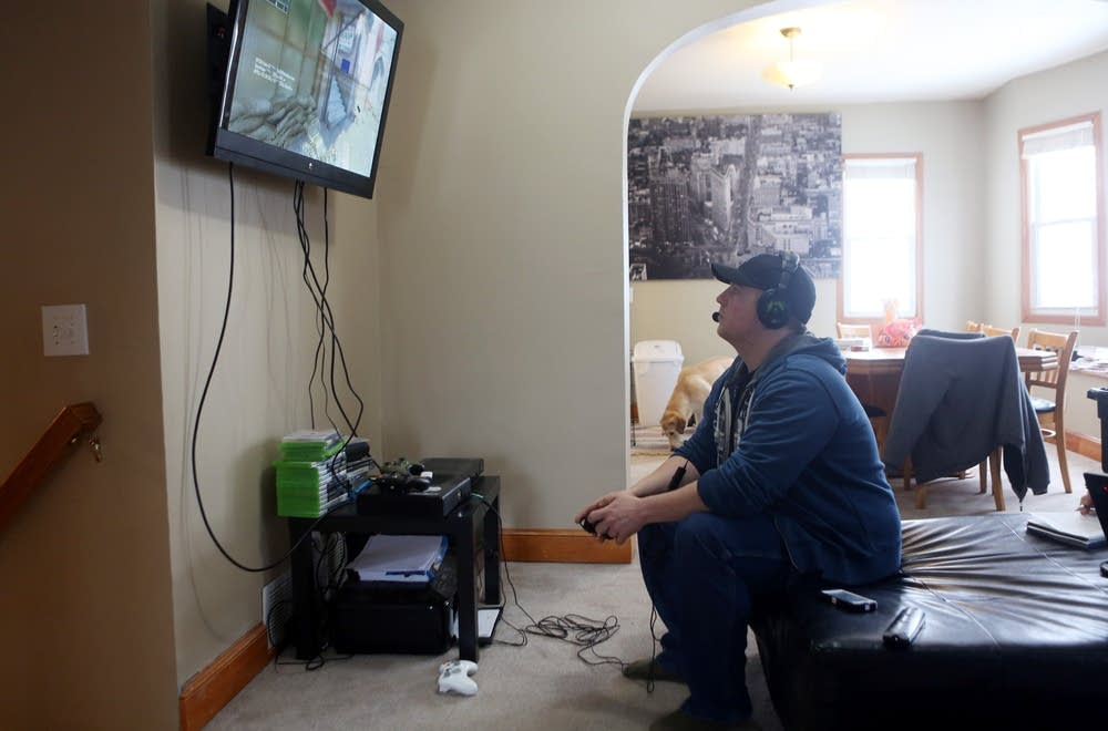 Video game at home