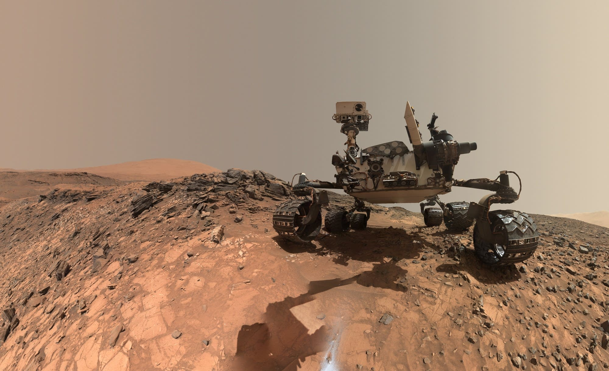 A selfie from NASA's Curiosity Rover