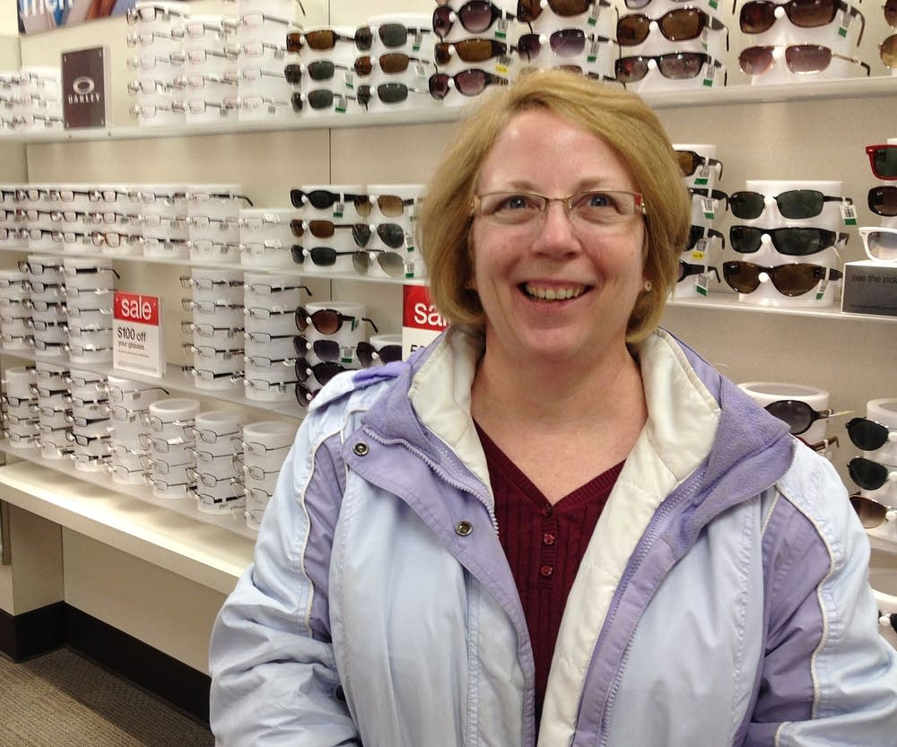 Shopping for eyeglasses
