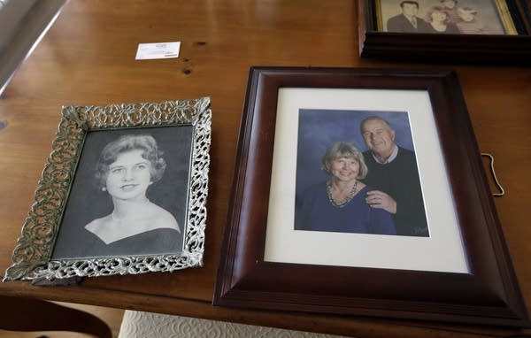 Mary Knowlton is shown in family photos