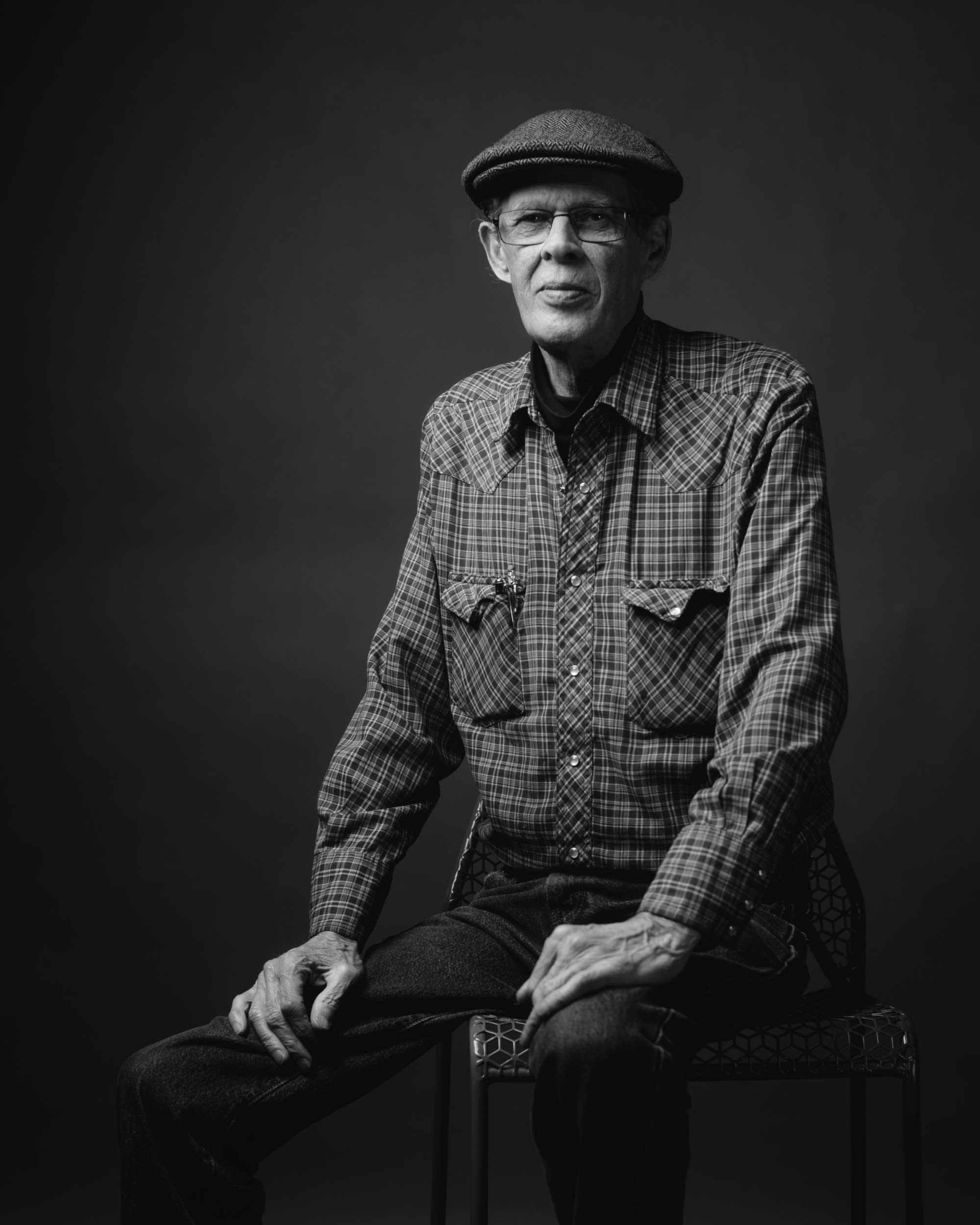 Spider John Koerner portrait