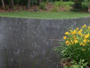 Heavy rains hit Shoreview.